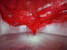 Chiharu Shiota @ Blain Southern, Londra