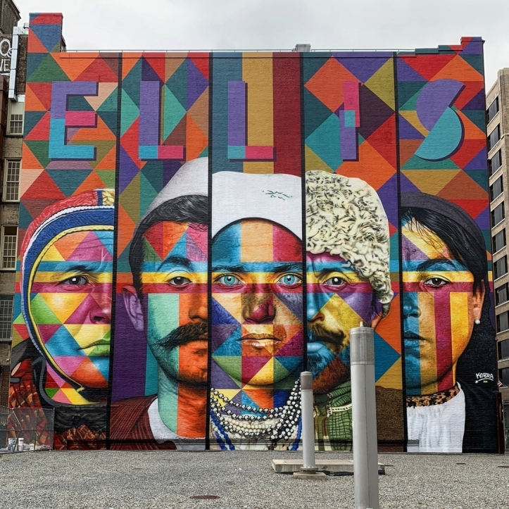 Eduardo Kobra @ New York, USA