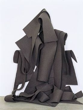 Felt Sculpture. Robert Morris