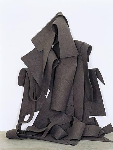 Felt Sculpture. Robert Morris