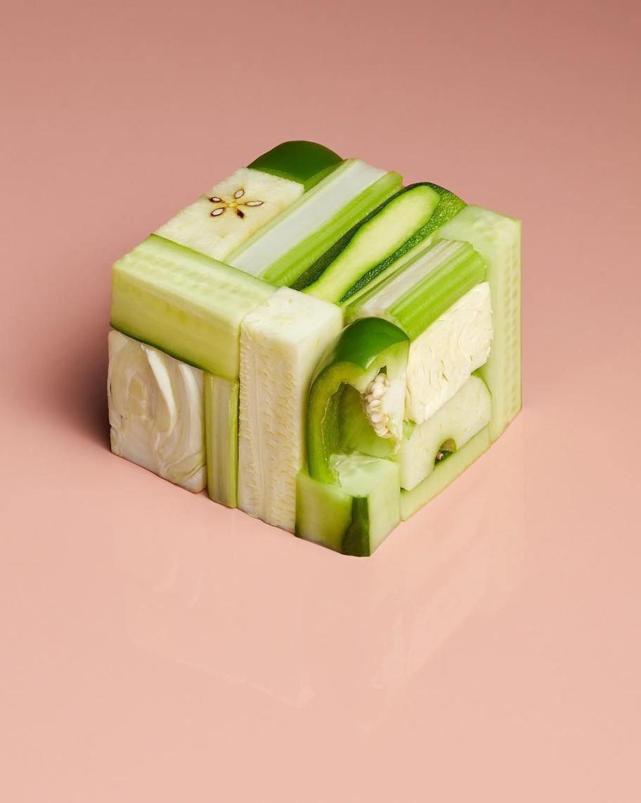 Food art by Aaron Tilley, Elena Horn & Iain Graham