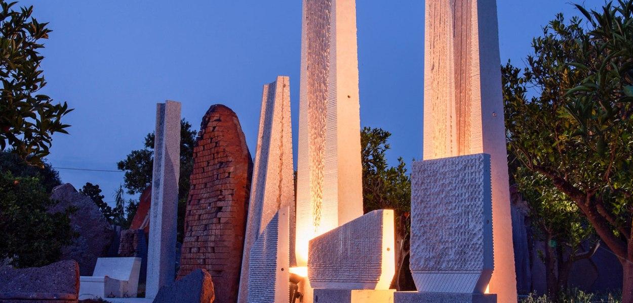 Giardino Sonoro - Pinuccio Sciola - Foto dal sito psmuseum.it