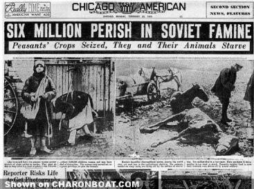 Il 26 novembre è riconosciuto come il National Day of Remembrance per le vittime di Holodomor, la carestia ucraina e il genocidio del 1932-33
