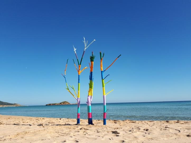 Il silenzio sogna a colori [#Mare] - Installazione di Barbara Picci