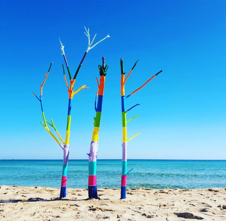 Il silenzio sogna a colori [#Mare] - Installazione di Barbara Picci (Filtered)