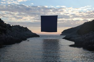 """""""Interface (Field of Blue)"""" by Michael Sebastian Haas"""