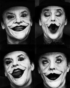 Jack Nicholson nel ruolo di The Joker, 1989