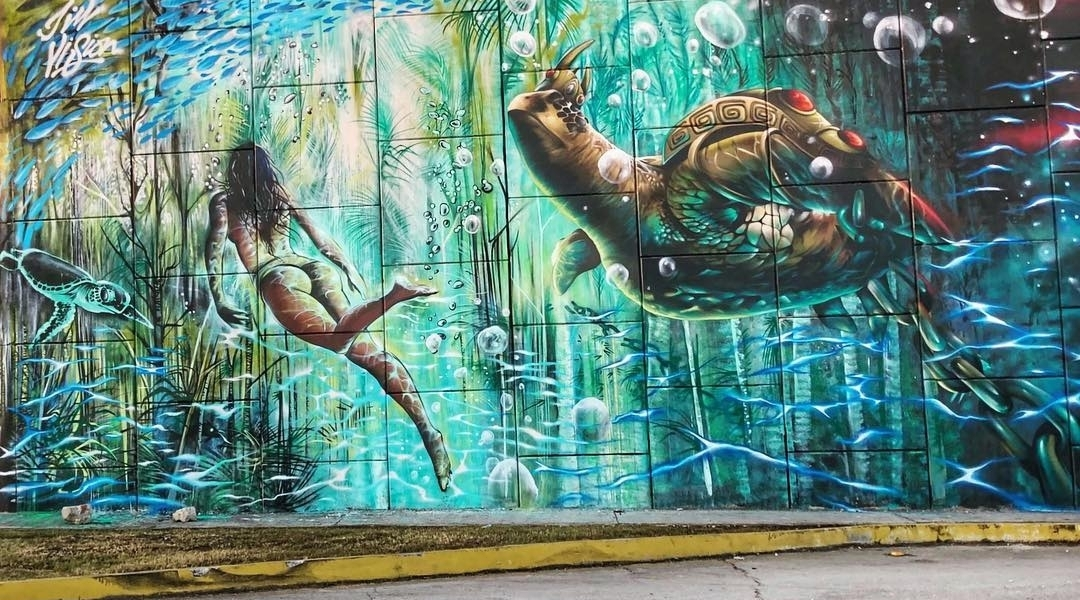 Jim Vision & Qubek @Akumal, Mexico
