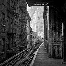 L station, New York, circa 1951. Fotografia di Evelyn Hofer