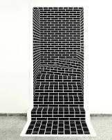 """Escalera falsa (izquierda)"" by Manuel Calderón @ Galeria Fernando Pradilla, Madrid, Spain"