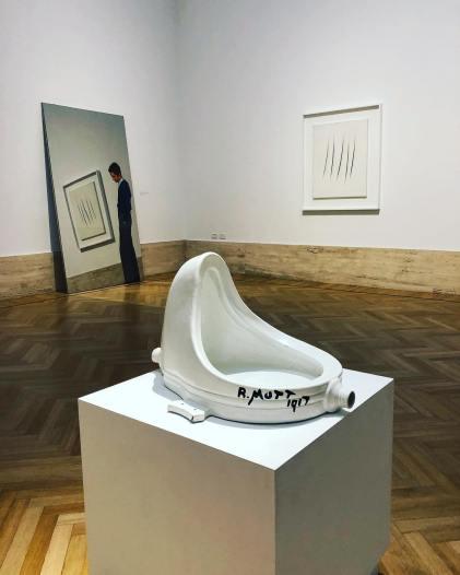 Marcel Duchamp, Michelangelo Pistoletto & Lucio Fontana - @ La Galleria Nazionale, Rome