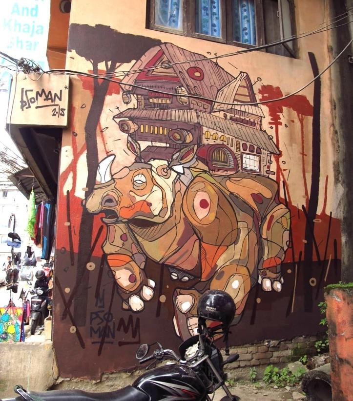 Pso Man @Kathmandu, Nepal