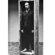Robert Morris (1931-2018) in the Untitled (boxforstanding)