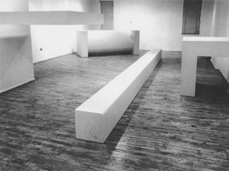 Robert Morris- Sculpture, Green Gallery, New York, December 16, 1964