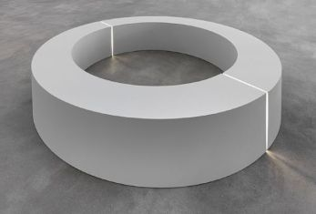 Robert Morris, Untitled (ring with light), 1965-66