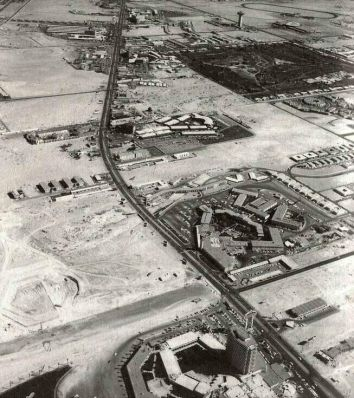 The Vegas Strip, Las Vegas, 1954