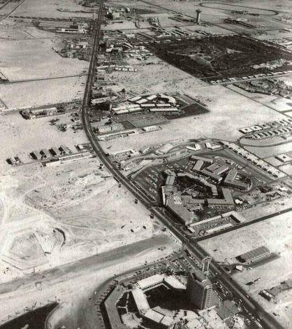The Vegas Strip, Las Vegas, 1954