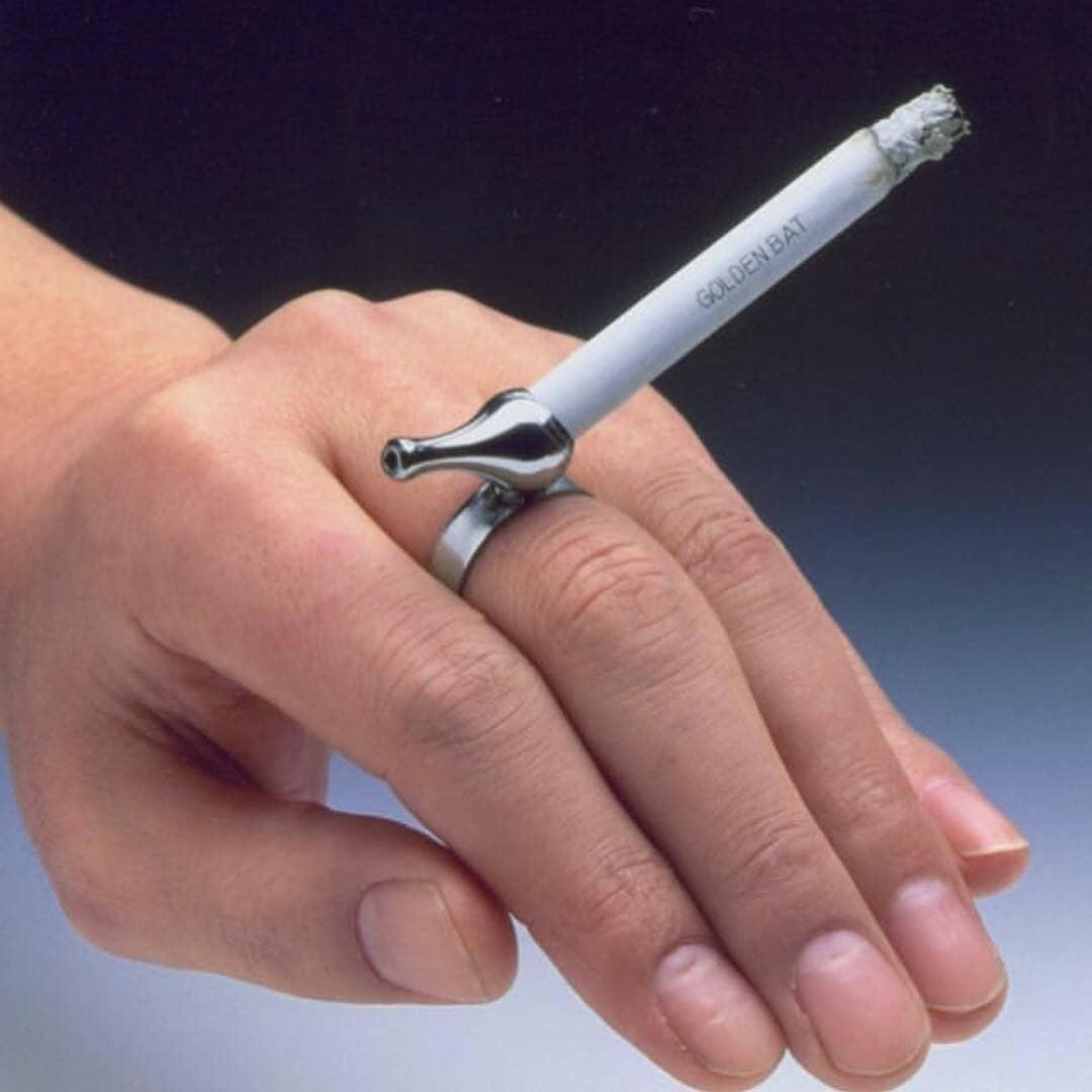 Anello porta sigaretta