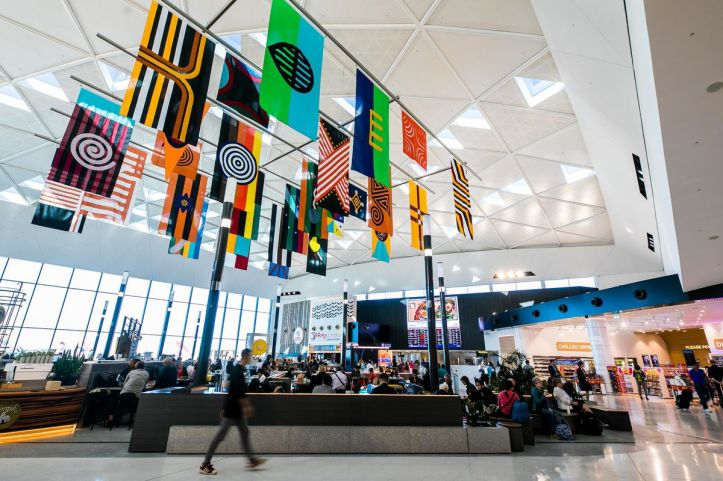 Archie Moore Sydney Airport Install
