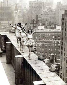 Ballerine su New York, 1925