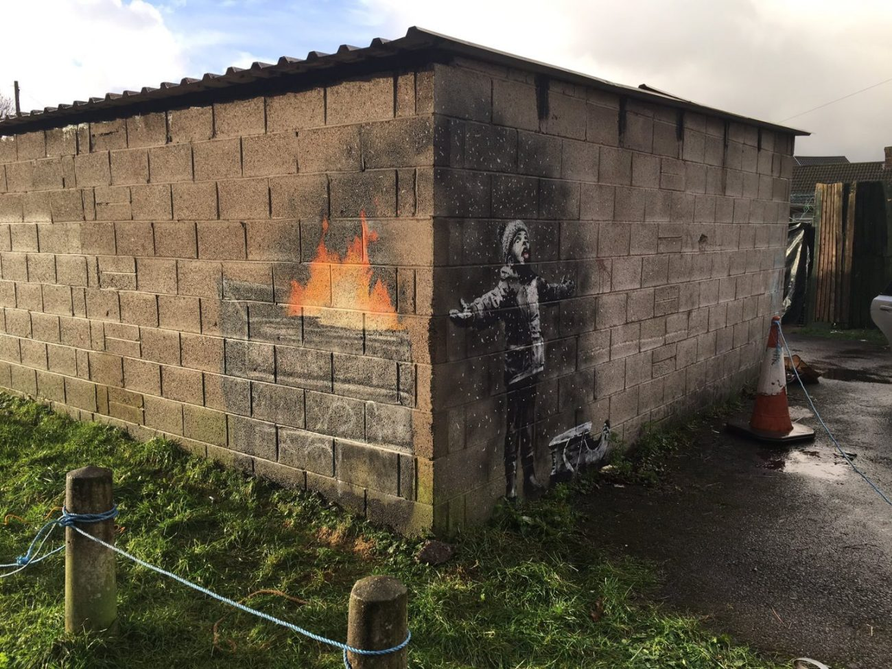 Banksy @Port Talbot, UK