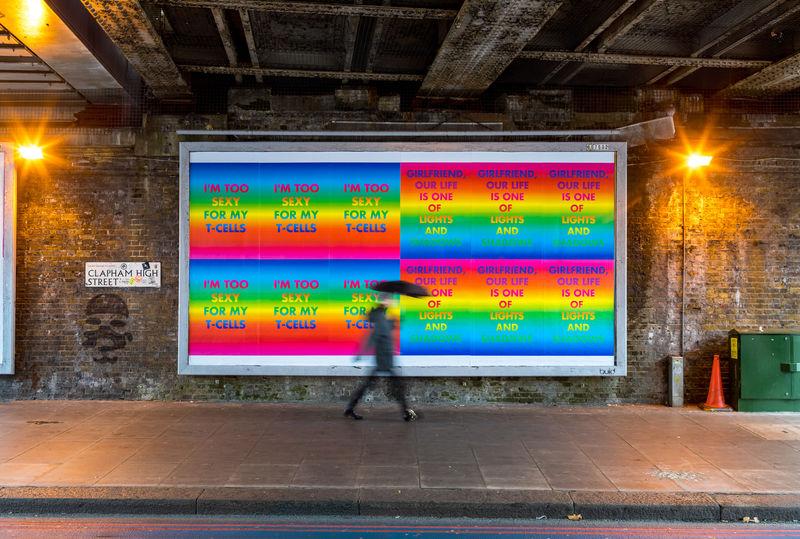 David McDiarmid, Rainbow Aphorisms, London