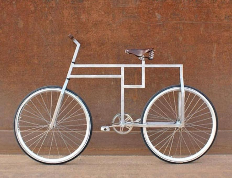 Bauhaus bicycle by Domenique Mora