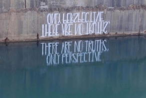 """""""There are no truths, only perspective"""" by Hula"""