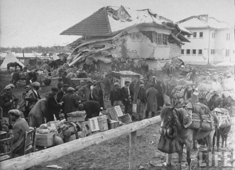 Il 27 dicembre 1939, a Erzincan, la Turchia fu completamente distrutta da un grave terremoto