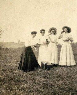 Insegnanti durante le vacanze di primavera, 1910