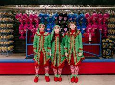 Jesse Rieser, Three Elves, San Antonio, TX, 2016. Courtesy of the artist