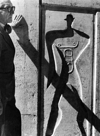 Portrait - Le Corbusier - Marseille - 1952 - ©Lucien Herve/Le Corbusier /Artedia