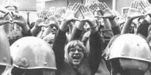 Manifestanti femministe in Italia, 1970