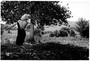 Marilyn Monroe durante le riprese di The Misfits, Reno, Nevada, 1960