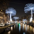 "OGE Group, ""Light a Wish,"" Amsterdam Light Festival 2018, all images © Janus van den Eijnden"