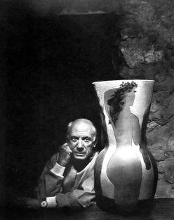 Picasso by Yousuf Karsh. Fotografo armeno-canadese, e uno dei fotografi più famosi e realizzati ritratto di tutti i tempi