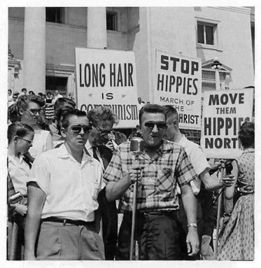 Protestanti anti-hippie, anni '60