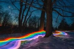 Rainbow Roads by Daniel Mercadante