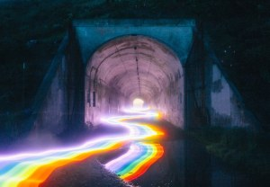 Rainbow Roads by Daniel Mercadante