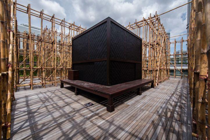 Rirkrit Tiravanija, Untitled 2018 The Infinite Dimensions of Smallness, Singapore