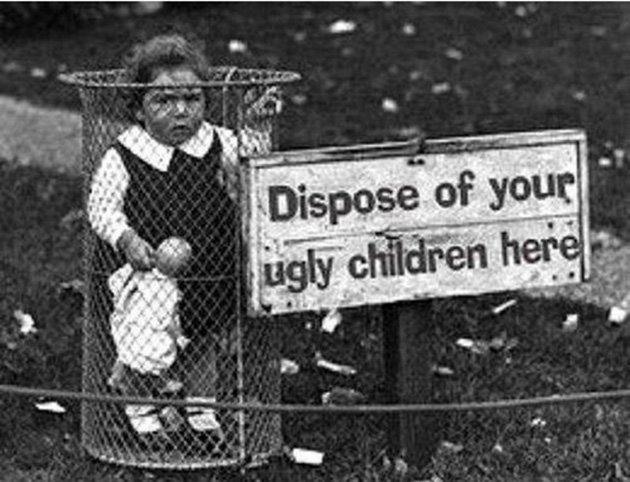 Smaltisci qui i tuoi bambini monelli