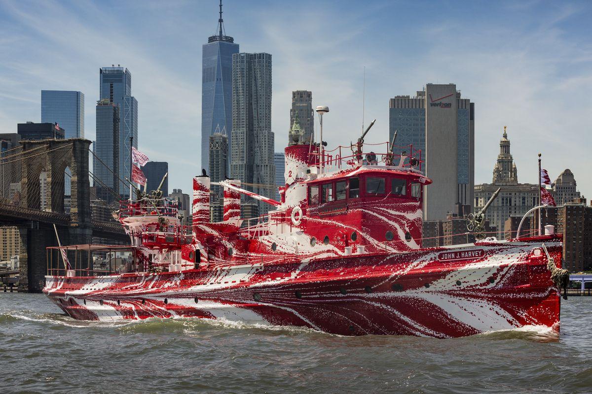 Tauba Auerbach, Flow Separation, New York City