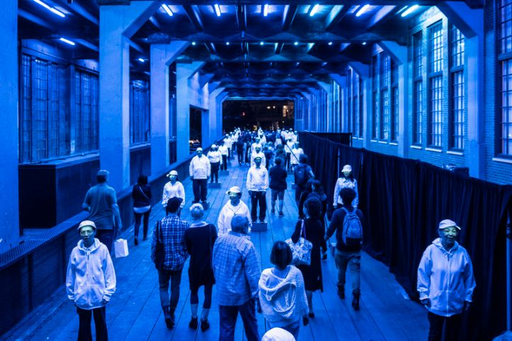 The Mile-Long Opera, New York City (co-created by Diller Scofidio + Renfro and David Lang, with text by Anne Carson and Claudia Rankine. Co-produced by Diller Scofidio + Renfro, the Hig