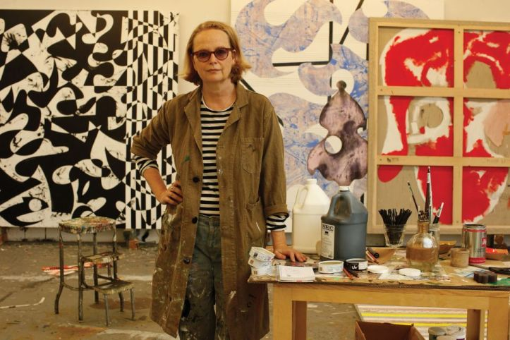 The artist Charline von Heyl Photo by Ralph Mecke/Courtesy of Petzel, New York