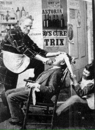 Una visita dal dentista, 1892