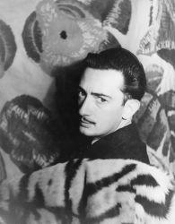 Carl Van Vechten, Salvador Dalí, 1939. Image via Wikimedia Commons