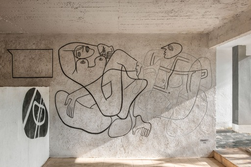 E-1027 - Un affresco di Le Corbusier
