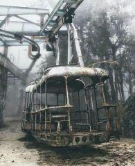 Funivia abbandonata in Russia