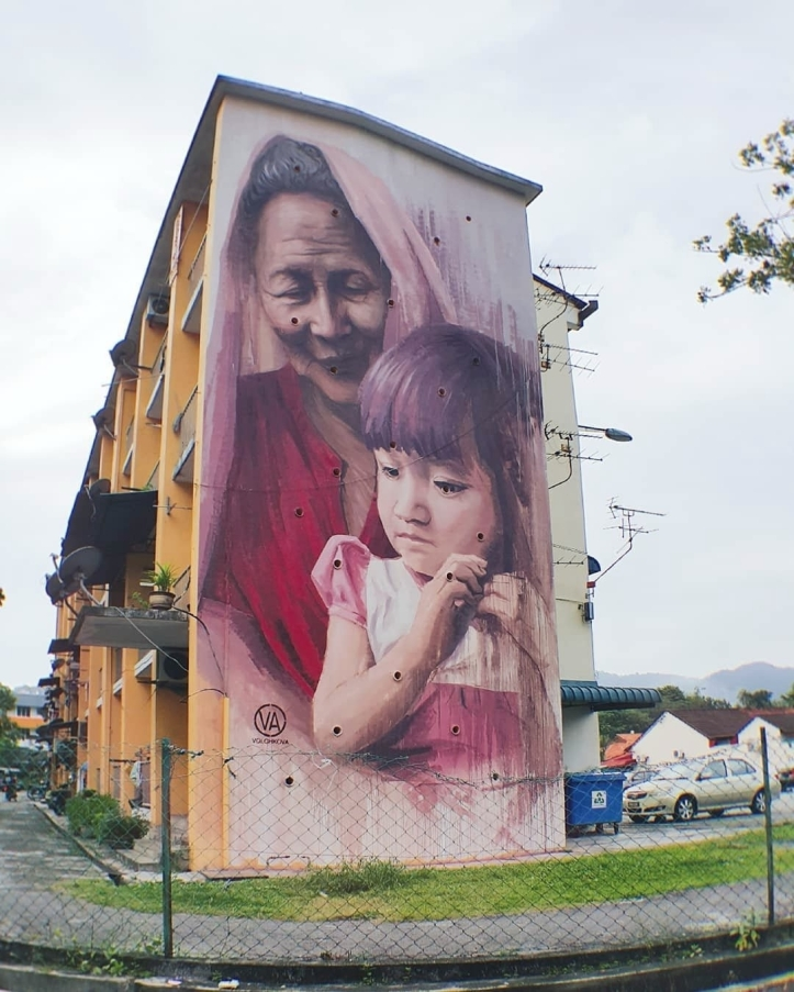 Julia Volchkova @George Town, Penang, Malaysia