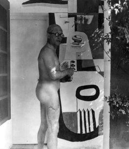 Le Corbusier dipinge nudo le pareti della E-1027